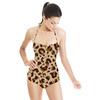 Neutral Leopard Repeat Pattern (Swimsuit)