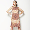 Square Paisley Pattern (Dress)