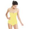 Yellow & Green Spots (Swimsuit)