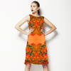 Whimsical Orange (Dress)