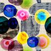 Pebbles and Glass Beads (Original)
