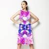 Pink Tropical Print (Dress)