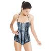 African Ethnic Denim Texture (Swimsuit)