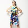 Poligonal Flowers (Dress)