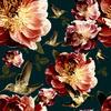 Hummingbird Flowers (Original)