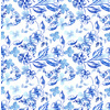 Blue and White Floral (Original)