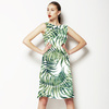 Green Palm Leafs (Dress)