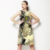 Leopard Wth Paisley (Dress)