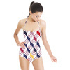 Geometric Optical Illusion Seamless Pattern (Swimsuit)