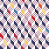 Geometric Optical Illusion Seamless Pattern (Original)