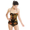 Chinoiserie Decorative Ornate Pattern (Swimsuit)