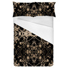 Victorian Dark Decorative Seamless Pattern (Bed)