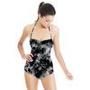 Marble BLACK (Swimsuit)