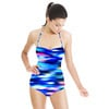 Abstract Geo Dots in Repeat (Swimsuit)