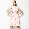 Sweet Flowers With Animal Print (Dress)
