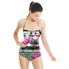 Rose Garden Stripes (Swimsuit)