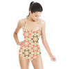 Floral Geometry (Swimsuit)