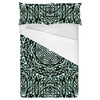 Sharp Ethnic Geometric Mosaic Seamless Pattern (Bed)