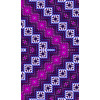 Purple Ethnic Pattern (Original)
