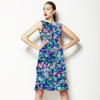 Seamless Abstract Irregular Colorfull Inspired Floral Textile (Dress)