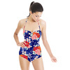 Florientals 2: Etched Carnations and Oriental-Style Floral Mix (Swimsuit)