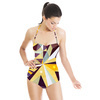 Dotted Abstract Digital Pattern (Swimsuit)