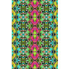 Tropical Colors and Ethnic Pattern 1 (Original)
