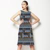 636 Ethnical Print Pattern (Dress)