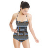 636 Ethnical Print Pattern (Swimsuit)