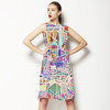 Geometric Painterly (Dress)