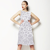 Organic Hand Drawn Texture Abstract (Dress)