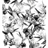 Black and White Tropic Design (Original)