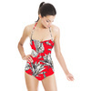 Geo Pop Spotted Jungle Flowers (Swimsuit)