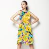 Bohemian Expressive Bloom Organic Floral (Dress)