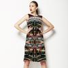 Tribal Brushed Stripes (Dress)