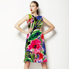 Bohemian Tropical Garden Painted Expressive 2016 (Dress)
