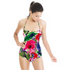 Bohemian Tropical Garden Painted Expressive 2016 (Swimsuit)