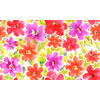 Multicolor Floral Pattern Hand-Painte (Original)