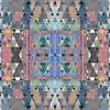 Crazy Triangles Mirrored Pattern (Original)