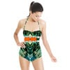 Tropical Leaves and Flowers (Swimsuit)