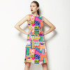 Vibrant Collage (Dress)