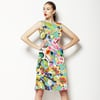 Bohemian Spring Summer Blooms Floral (Dress)