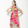 Bohemian Skin Mosaic Fragmented Pink (Dress)