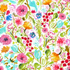 Painted Florals Bohemian (Original)