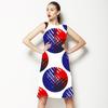 Brushed Circles (Dress)