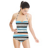 Watercolor Ethnic Pattern (Swimsuit)