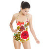 AW 2017 Painterly Autumn Florals (Swimsuit)