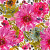 SS 2017 Painted Florals Bohemian Pink (Original)