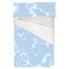 Marble Clouds Baby Blue (Bed)