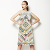 Tribal Geometric, Ethnic Style (Dress)